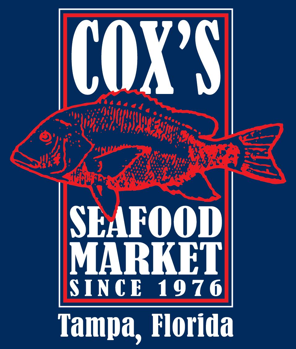 Cox 39 s seafood market 813 879 5084 tampa fl for Fresh fish market tampa